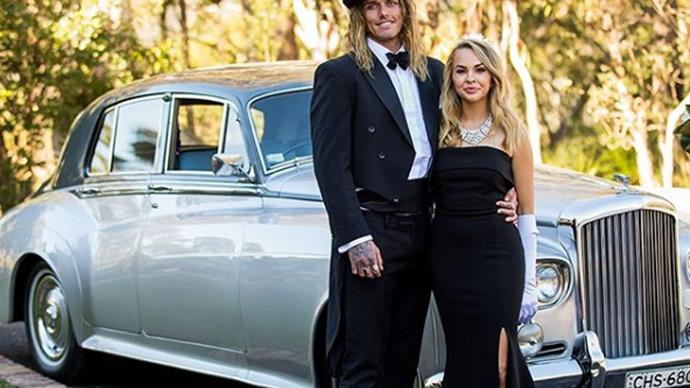 Timm and Angie on 'The Bachelorette' Australia 2019.