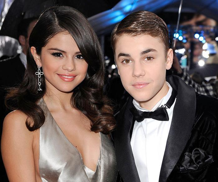 Selena Gomez and Justin Bieber in 2011.