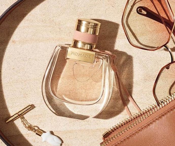 Chloé Nomade perfume for summer.