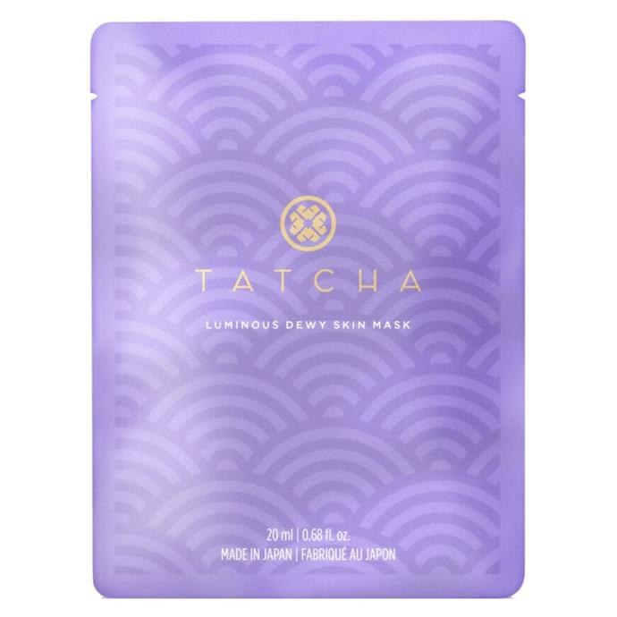 "**Luminous Dewy Skin Mask by Tatcha** <br><br> Cute packaging aside, Tatcha's dewy masks penetrate deep into the skin, combining ancient oils with modern, scientifically-backed ingredients for a completely hydrating effect. Apply weekly to unlock your skin's natural dew.<br><br> *$69 for four masks at [MECCA](https://www.mecca.com.au/tatcha/luminous-dewy-skin-mask/V-031936.html|target=""_blank""