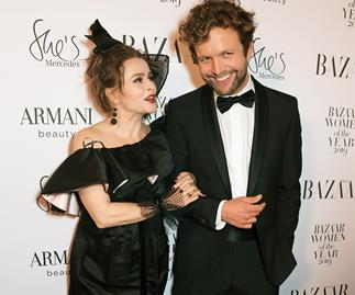 Helena Bonham Carter and Rye Dag Holmboe