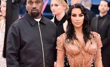 Kim Kardashian And Kanye West's Calabasas Condo Is Even Wilder Than Their Actual House