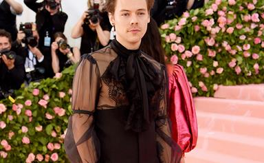 Harry Styles Recreated An Iconic Princess Diana Outfit And, Yes, We Are Compelled To Stan