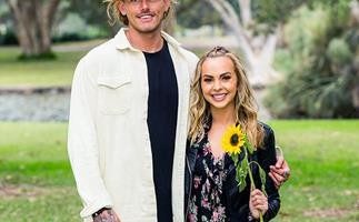 Timm and Angie from 'The Bachelorette' Australia.