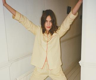 Alexa Chung Has Designed Her Own Incredibly Chic Line Of Pyjamas