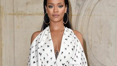 Rihanna Takes The Logo-Mania Trend To A Completely New Level