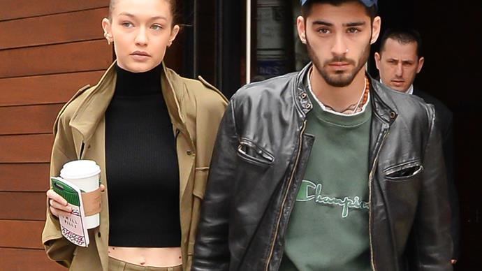 Gigi Hadid and Zayn Malik.
