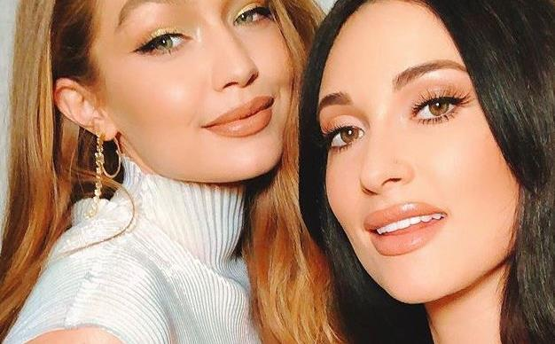 Kacey Musgraves and Gigi Hadid.