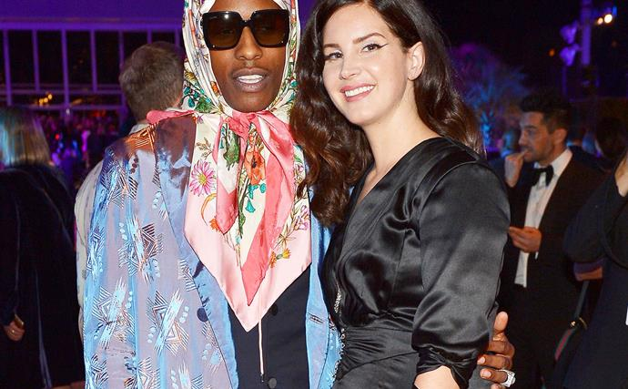 Lana del Rey and ASAP Rocky.