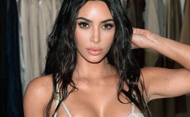 Kim Kardashian Starred In An Uber Eats Ad With Sharon Strzelecki And Twitter Is Loving It