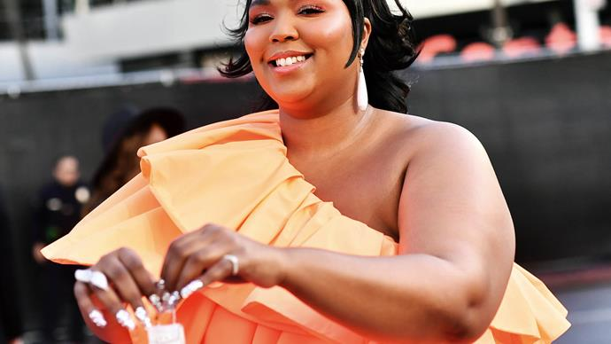 Lizzo at the 2019 American Music Awards.