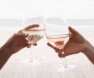 Rose wine.
