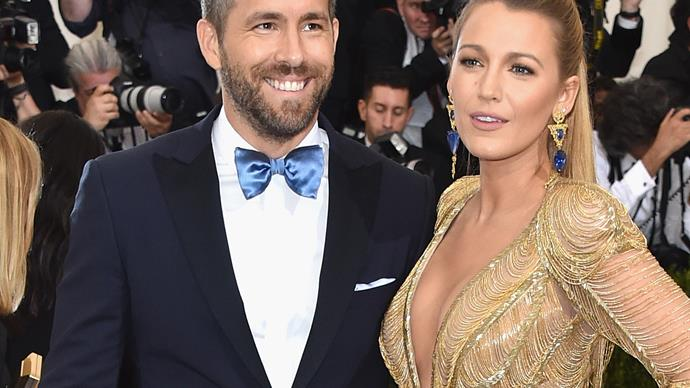 Blake Lively Ryan Reynolds.