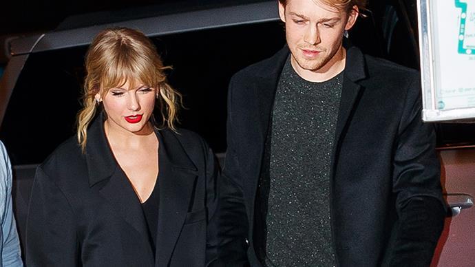 Taylor Swift and Joe Alwyn.
