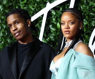 Rihanna and ASAP Rocky.