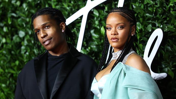 Rihanna and ASAP Rocky.