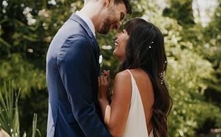 ELLE Weddings: Emily And Michael's Rustic Mexican Garden Party