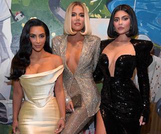 Kim Kardashian West, Khloe Kardashian, Kylie Jenner.