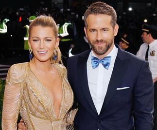 Blake Lively and Ryan Reynolds.