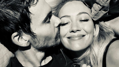 Hilary Duff Just Revealed The First Picture Of Her Wedding Dress