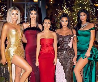 Kardashian Jenner Christmas Eve Party 2019.