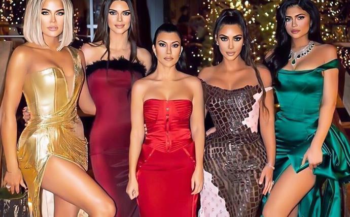 Kardashian Jenner Christmas Eve Party 2019.