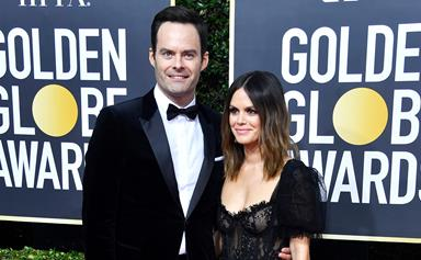 Rachel Bilson and Bill Hader Make Golden Globes Debut, Instantly Become Our New Favourite Couple