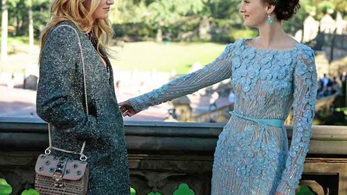 Blair and Serena in the Gossip Girl Series Finale.