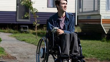 Meet Sex Education's Isaac, Played By Real-Life Paraplegic George Robinson