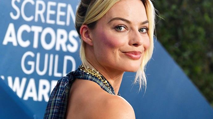 Margot Robbie at the 26th SAG Awards.