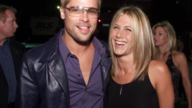 Golden Couple (And Good Friends) Brad Pitt And Jennifer Aniston Have A Red Carpet Reunion