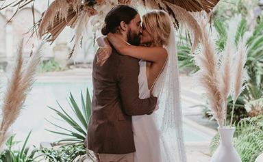 ELLE Weddings: A Grace Loves Lace Art Director's Dreamy Byron Wedding