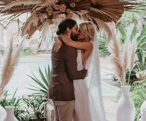 ELLE Weddings: A Grace Loves Lace Art Director's Dreamy Byron Wedding