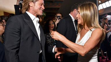 The Best Reactions To Brad Pitt And Jennifer Aniston's Blessed Reunion At The 2020 SAG Awards