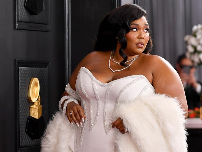 Lizzo at the 2020 Grammy Awards.
