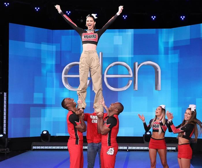 It's Official: Kendall Jenner Just Became The Newest Navarro Cheer Member