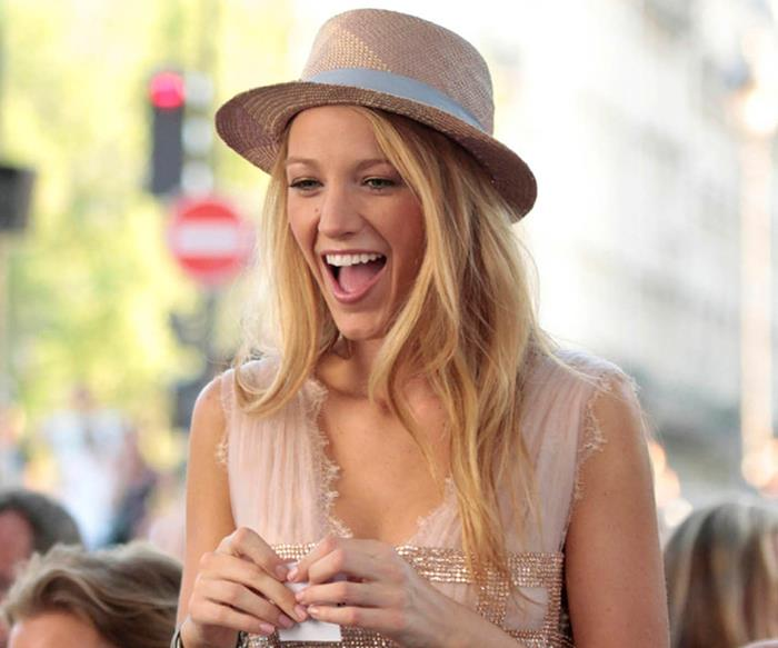 Serena van der Woodsen from Gossip Girl.