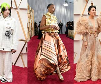 Every Single Red Carpet Look From The 2020 Oscars