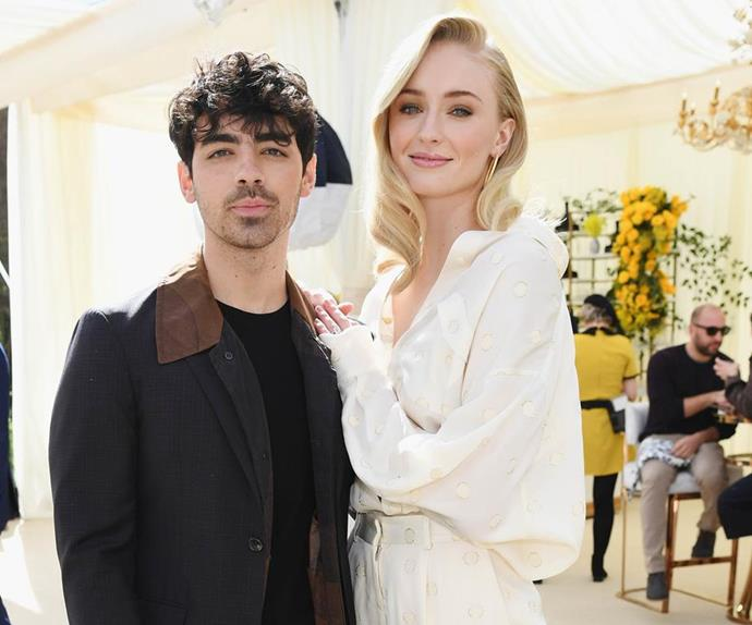 Joe Jonas and Sophie Turner.