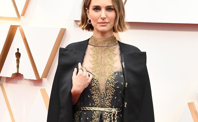 Natalie Portman Oscars 2020.