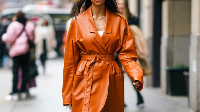 New York Fashion Week 2020 street style trends.