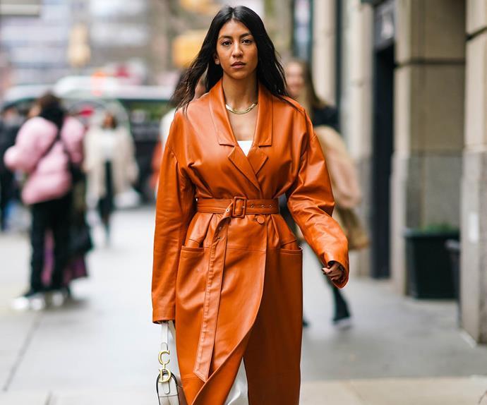 New York Fashion Week 2020 street style trends.