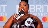 Lizzo Dressing As An Actual Chocolate Bar At The 2020 BRIT Awards Is A Whole Mood