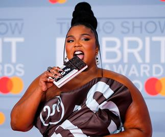 Lizzo at the 2020 Brit Awards.