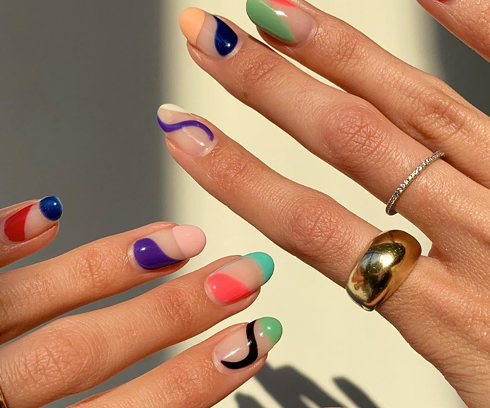 Abstract Nails Are The New Trend Taking Over Instagram