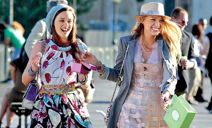 Gossip Girl's Blair Waldorf and Serena van der Woodsen.