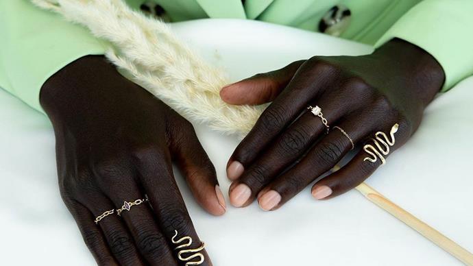 Betina Goldstein's Double Moss Jewellery.