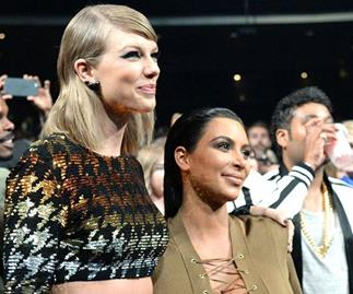 Kim Kardashian and Taylor Swift.