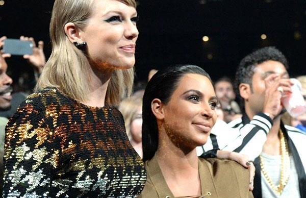 Kim Kardashian and Taylor Swift.