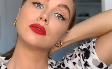 Ksenija Lukich Shares Her Top Tips For Perfecting A Red Lip